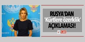 Rusya'dan 'Kürtlere özerklik' açıklaması!