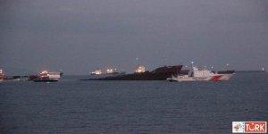 Zeytinburnu Açıklarında Kuruyük Gemisi Battı!