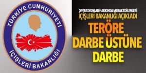Terör operasyonları hakkında merak edilenleri İçişleri Bakanlığı açıkladı!