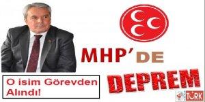 MHP İlçe Başkanı Görevden Alındı!