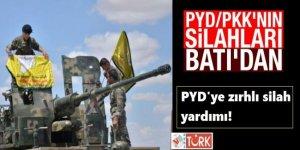 ABD'den PYD'ye Zırhlı Silah Yardımı!