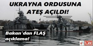 Karadeniz'de Ukrayna Ordusuna Ateş Açıldı İddiası!