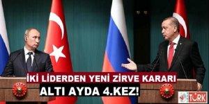Cumhurbaşkanı Erdoğan, Putin İle Görüşecek!