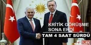 Cumhurbaşkanı Erdoğan, Başbakan Yıldırım İle Görüştü!