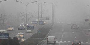 Yoğun sis hava ulaşımını engelliyor