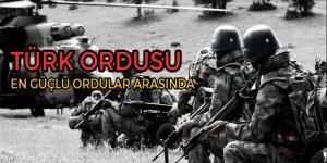 Türk ordusu dünyada 8. sırada!