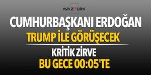 Cumhurbaşkanı Erdoğan bu geceTrump ile görüşecek