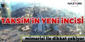 İşte Taksim Camii'nin yeni görüntüsü