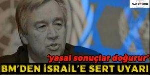 BM'den 'yerleşim' uyarısı!