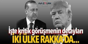 İşte Cumhurbaşkanı Erdoğan ve Trump görüşmesinin detayları