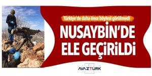 PKK'ya ait füze ateşleyicisi Nusaybin'de ele geçirildi!