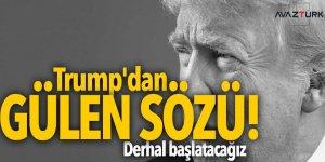 Trump'dan Gülen sözü! Derhal başlatacağız