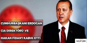 Erdoğan, CIA Direktörü Pompeo'yu kabul etti