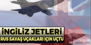 İngiliz jetleri Rus savaş uçakları için havalandı