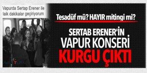 Sertab Erener'in sözde 'tesadüf' konseri kurgu çıktı