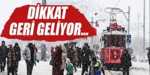 Meteoroloji İstanbul'da kar yağışı için tarih verdi!