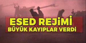 Muhalifler Esed rejimine saldırdı!