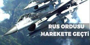 Rus ordusu alarma geçirti!