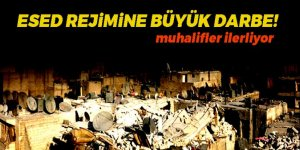 Muhalifler o kentte rejime darbeyi vurdu!