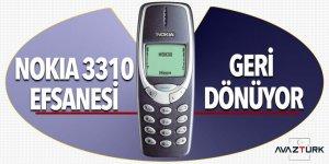 Nokia 3310 efsanesi geri dönüyor