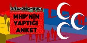 Referandum konusunda MHP anketlerinde çıkan sonuç!