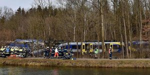 Tren kazası: Çok sayıda yaralı var!