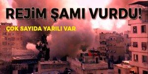Rejim güçleri Şam'ı vurdu: 97 yaralı