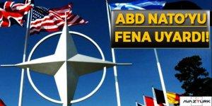 ABD, NATO'yu o konuda uyardı!