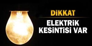 İstnabul'un 5 ilçesinde elektrik kesintisi!