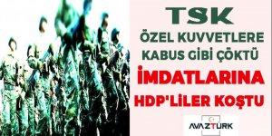 TSK, PKK'nın Özel Ekibine kabus gibi çöktü! İmdatlarına HDP yetişti