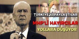 MHP'li hayırcılar yola düşüyor! Türkiye'yi paylaştılar