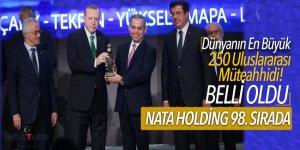 Dünyanın En Büyük 250 Uluslararası Müteahhidi! Belli oldu Listede Nata Holding 98. sırada yer aldı
