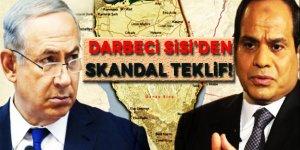 Darbeci Sisi'den İsrail'e Filistin teklifi!