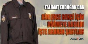 Talimat bizzat Erdoğan'dan! Alınacak binlerce Bekçi için işte aranan şartlar