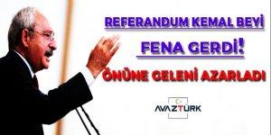 Referandum Kemal beyi fena gerdi. Önüne geleni azarladı!
