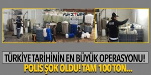 Türkiye tarihinin en büyük operasyonu!