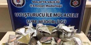Malatya'da uyuşturucu operasyonu!