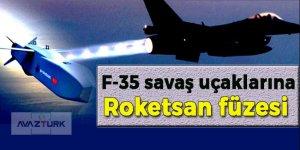 F-35 savaş uçaklarına Roketsan füzesi!