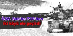 ÖSO, Bab'da PYD'den iki köyü ele geçirdi
