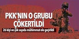 Muş'ta terör operasyonu! PKK'nın o grubu çökertildi