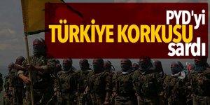 PYD'yi Türkiye korkusu sardı