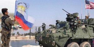 Rusya, Münbiç'e kendi bayrağını dikti!