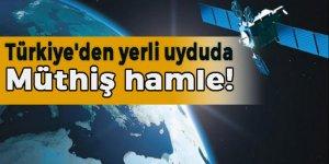 Türkiye'den yerli ve milli uyduda müthiş hamle!