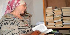 Bu kadın tam 3 bin kitap okudu!