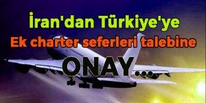 İran'dan Türkiye'ye ek charter seferlerine izin!