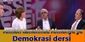 Alman kanalında Almanya'ya demokrasi dersi!