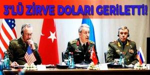 Üç genelkurmay başkanının buluşması doları geriletti!