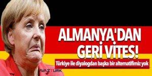 Almanya'dan geri vites! 'Türkiye ile diyalogdan başka bir alternatifimiz yok'