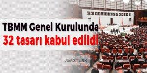 Genel Kurulda yasalaşan tasarı sayısı 147'ye ulaştı
