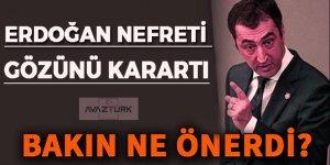 Erdoğan nefreti gözünü kararttı, bakın ne önerdi!